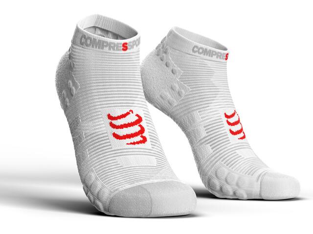 Compressport Pro Racing V3.0 Run Low Socks White